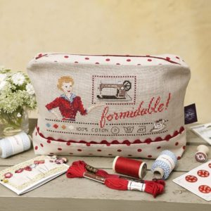 trousse formidable - kit à broder